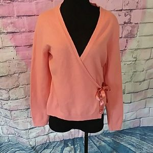 Gap peachy color sweater